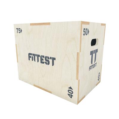 Caixa Pliométrica de Madeira Fittest Equipment