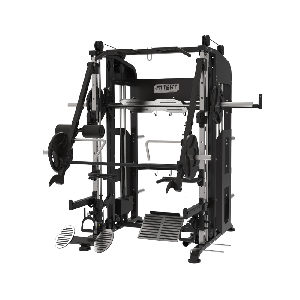 Máquina Smith Multifunção 100 Plus - Fittest Equipment